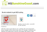 HQ-Sunshine-Coast.com-Brooks-students-to-get-AED-training