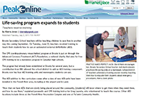 2013-07-02-Powell River Peak-Life-saving Program Expands to Students