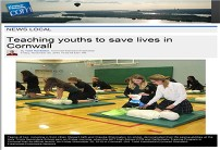 Teaching youths to save lives | Cornwall Standard Freeholder