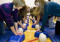Generic pic - row of students - CPR - Copy
