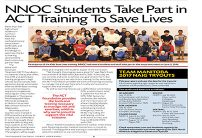 2016-06- NCN- NNOC Students Take part in ACT Training to save livesweb