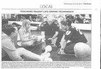 WEB 29-06-2016-Trail Times-Teachers Taught lifesaving