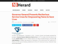 2017-12-14_NB Herard_Governor General Presents Meritorious Service Cross for Empowering Teens to Save Lives